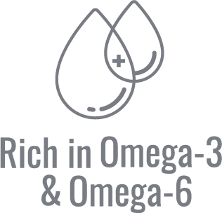 Rich in omega-3 & omega-6