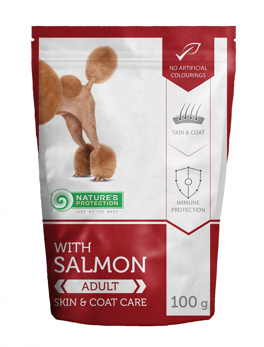 WITH SALMON SKIN & COAT CARE