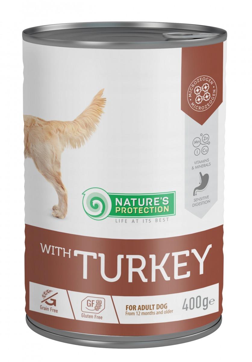 WITH TURKEY SENSITIVE DIGESTION