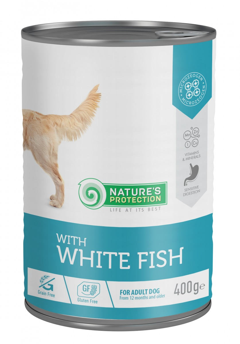 WITH WHITE FISH SENSITIVE DIGESTIONS