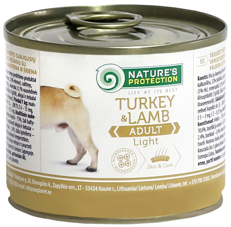 ADULT LIGHT TURKEY & LAMB