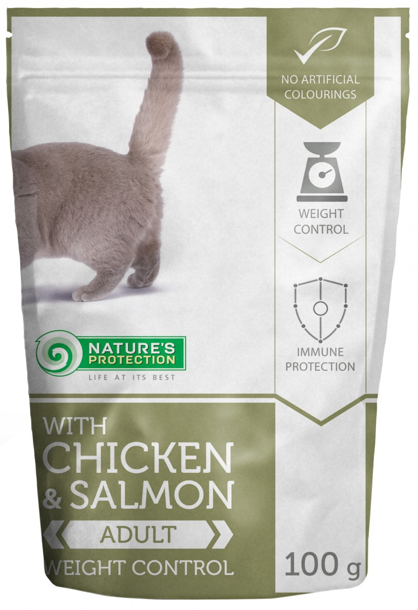 WITH CHICKEN & SALMON WEIGHT CONTROL