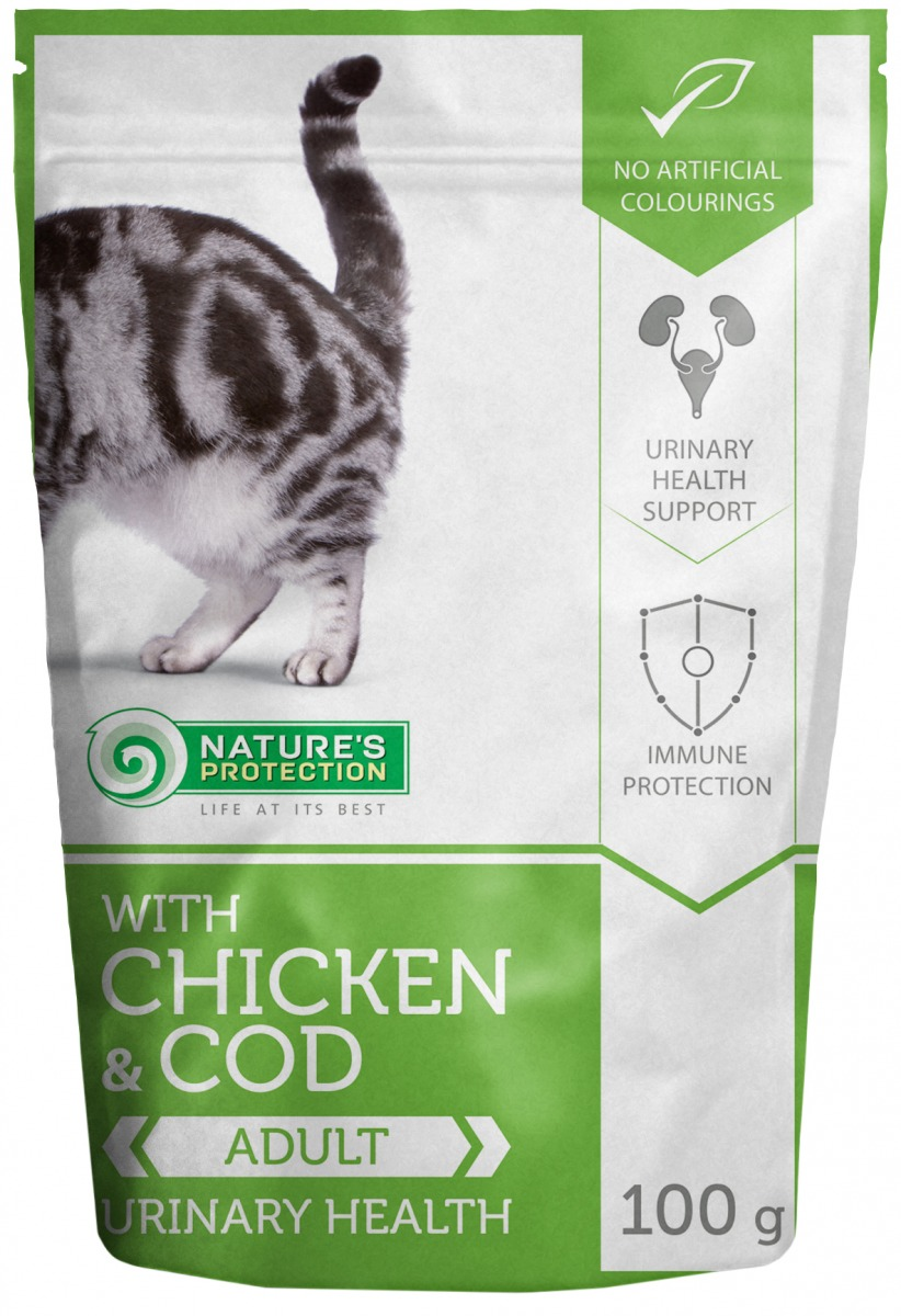 WITH CHICKEN & COD URINARY HEALTH