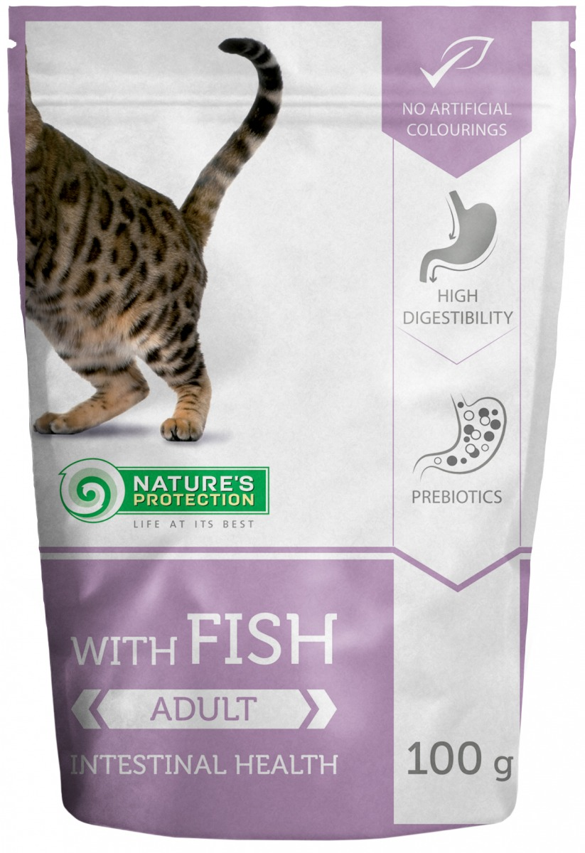 WITH FISH INTESTINAL HEALTH